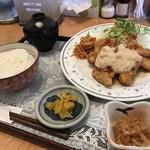 蜜柑 - チキン南蛮定食!