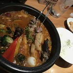 Chinese TAM'S Kitchen ゴビィー - 薬膳麻婆(1,200円+200円+税)