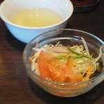 THAIFOOD DINING&BAR マイペンライ - サラダとスープ