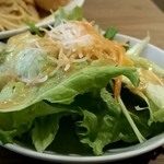Brasserie MORI - ランチセットのサラダ!