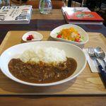 ジャズカフェ トッシー - 料理写真:ビーフカレーセット(1,220円)