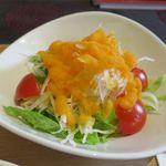 ジャズカフェ トッシー - サラダのアップ