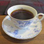 ジャズカフェ トッシー - ホットコーヒー(キリマンジャロ)