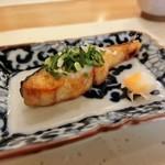 宝塚 しば田 - 料理写真:焼物:島根県産鰆の野蒜焼き