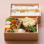 割烹 天ぷら 三太郎 - 幕の内2段弁当 ¥2,000  *お持ち帰り用となります