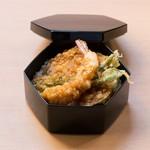 割烹 天ぷら 三太郎 - お子様天丼弁当 *お持ち帰り用となります