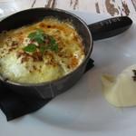 83586959 - Staub鍋 挽肉とナスのトマト煮込み