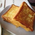 マーサーブランチ - ブリオッシュのフレンチトースト