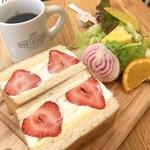 ノースショア - あまおうサンドイッチ