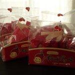 つるや菓子店 - 料理写真:ひたちなか市の新スイーツ「イチゴダッペ」