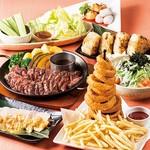 くつろぎダイニング とりあえず吾平 - 宴会コース 鳥唐揚げ食べ放題 飲み放題もあります。