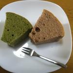 お菓子の四季 - シフォンケーキ2種