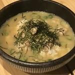 京橋チャコール - 鶏雑炊