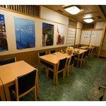 おたる政寿司 - テーブル席(4X4)