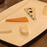 アシェット - チーズの盛り合わせ