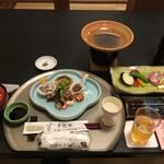 瀬の本館 夢龍胆 - 料理写真:最初に運ばれてきたもの