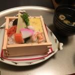 瀬の本館 夢龍胆 - ご飯もの(ちらし寿司)
