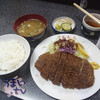 とんかつ料理 とん八 - 料理写真:サービスランチ ロースかつ定食 850円