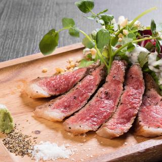 ドライエイジングビーフ(熟成肉)のステーキ