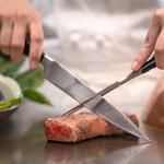 ステーキハウスーミディアムレアー - 料理写真: