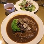 一楽章 未完成 - 牛肉トーフ野菜のすき焼き風カレー