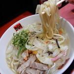 83604695 - 太目のチャンポン麺