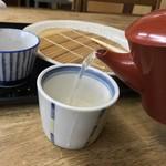 しみずや - しみずや(群馬県桐生市新宿)こむぎ日和 三笑鳥汁