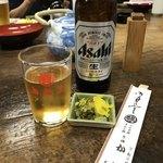83608222 - 瓶ビール(小)@500円