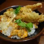 丸亀製麺 - 海老天とじ丼