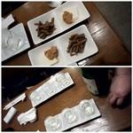 生駒 - お酒3種と、チャーム2種