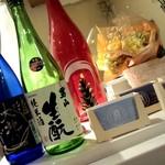 生駒 - 一升瓶もいい感じで飾られています!