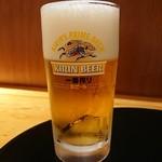 五島伊勢丸 - 生ビール(600円)