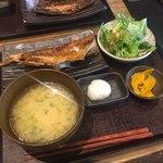 越後屋亀丸 - あこう鯛定食+ミニサラダーご飯