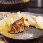 ヒツジサンライズ - 玉葱、蓮根、羊肉