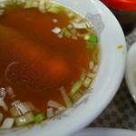 水新菜館 - そこそこ本腰の入ったスープ