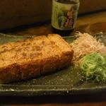 なかめのてっぺん - 和歌山十六豆腐あつあげ