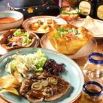 TEX-MEX Dining Bar El Cafe del pueblo pequeno -