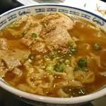 83615498 - カレー牛バラ麺¥980