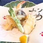 三滝茶屋 - 天ぷら