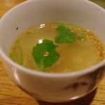 酉の - 鶏スープ