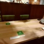 大連餃子基地 ダリアン - 【2018.4.4(水)】テーブル席