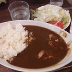 浪漫亭 - チキンカレー(700円)