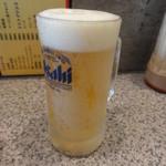 めんめん - 生ビール(小)\450