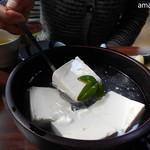 湯どうふ 竹むら - ふるふるのお豆腐です