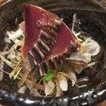 天ぷらチャンピオン - 鰹ポン酢