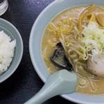 熊っ子ラーメン - ラーメンライス(みそ):730円/2018年4月