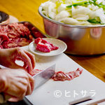 成吉思汗 だるま - 肉は新鮮なマトンを使用しています