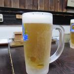 上村うなぎ屋 - 生ビール 800円