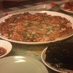 韓国料理とよもぎ蒸しの店 スック - 海鮮チヂミ
