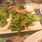 韓国料理とよもぎ蒸しの店 スック - サンチェサラダ